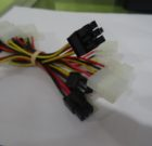 Cable molex de energia ide a Pci-Express de 6 pines para tarjetas de video