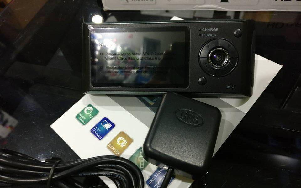 Camara grabadora para vehiculo con GPS
