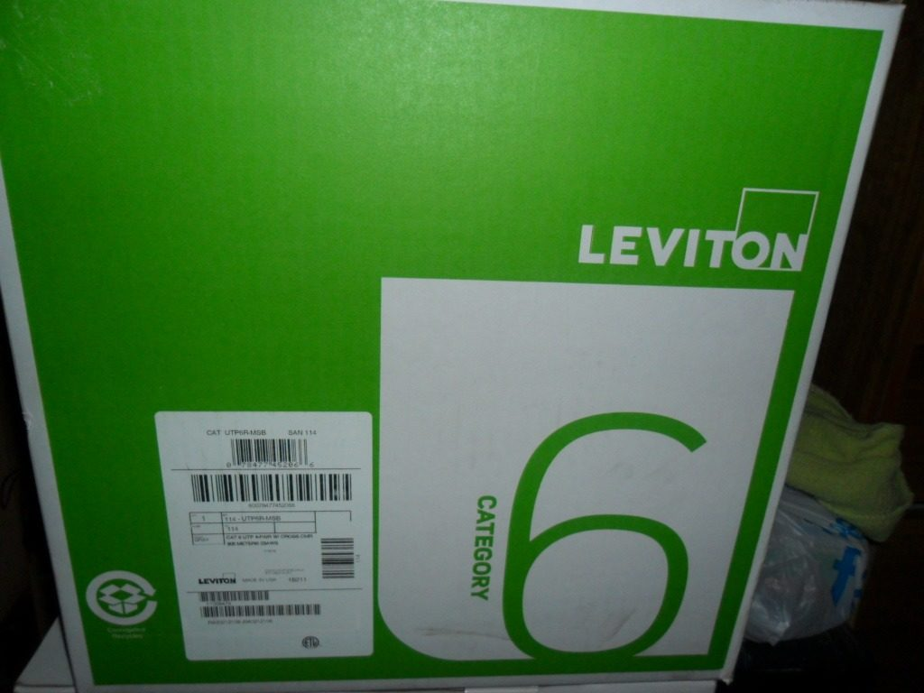 CABLE UTP CAT6 LEVITON GRIS 305MTS - innovaventas
